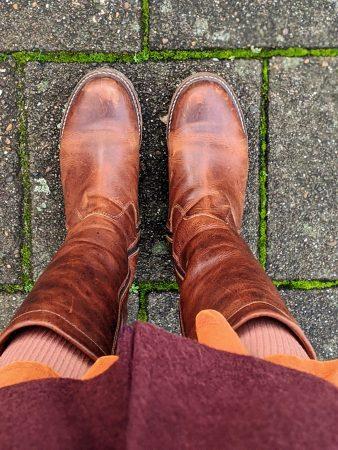Leren laarzen duurzaam