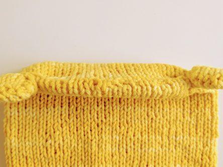 Gebride babymuts kitchener stitch