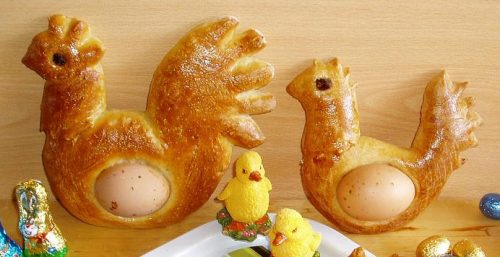 Broodhaantjes, alternatieve paaseieren