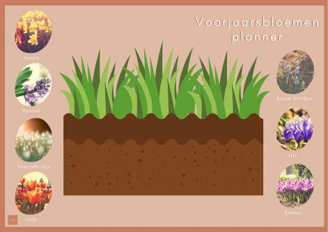 Voorjaarsbloemen planner