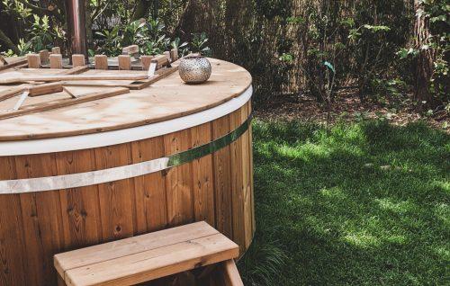 Hot tub natuurhuisje