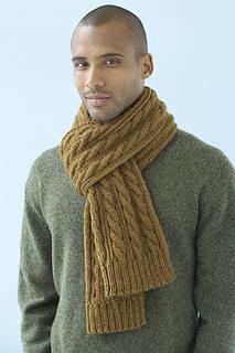 Een comfortabele gebreide sjaal