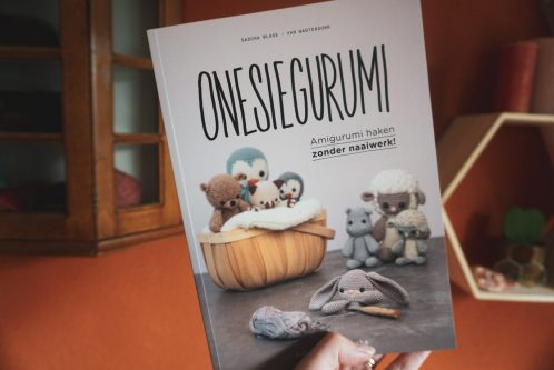 Onesiegurumi boek a la Sascha