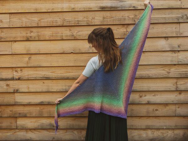 Meer sjaals haken a la sascha, Amethistsjaal