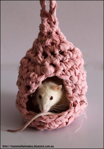 Een rattenhuisje